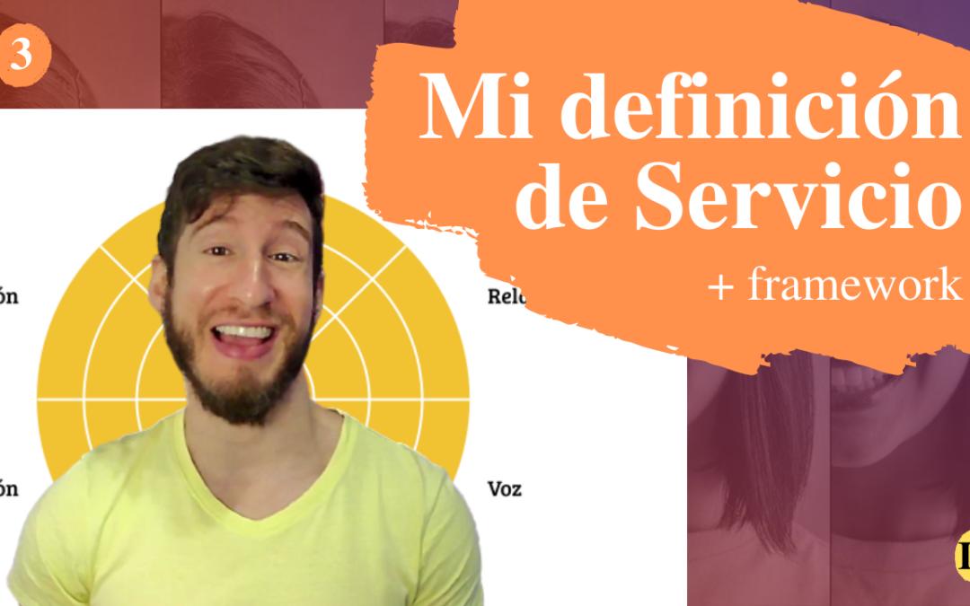 ¿Qué es servicio al cliente? El cuadro SERVICIO