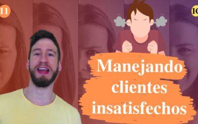 Como manejar clientes insatisfechos y enojados en la práctica
